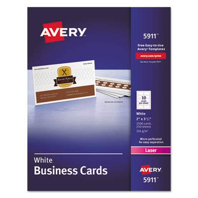 AVE5911 - Avery Two-Side Printable Business Cards