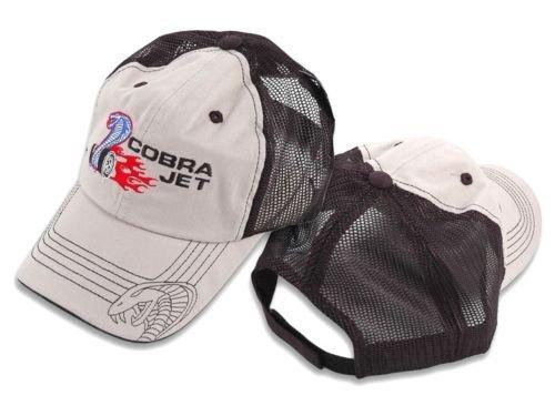 - Yates Performance Mustang Cobra Jet Baseball Hat Tan & Mesh