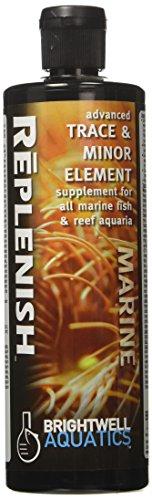 - Brightwell Aquatics ABAREP500 Replenish Liquid Salt Water Conditioners for Aquarium, 17-Ounce