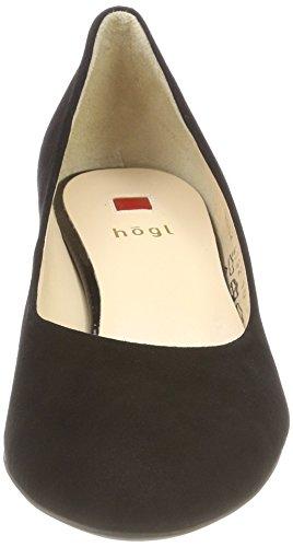Schwarz Mujer 10 Tacón 0100 4002 5 Högl de Negro para Zapatos vfqg8T5Tw