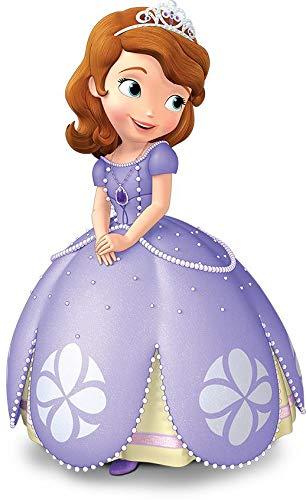 Disney Sofia The First Ball Gown Tiara Edible Cake Topper Image ABPID06511 - 1/2 - Tiara Gown