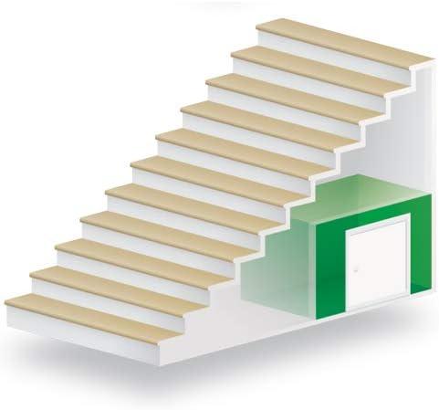 Kniestockt/ür Drempelt/ür EXTRA Ud=0,85 W//m2*K Oman 80x55 Holz Abseitent/ür