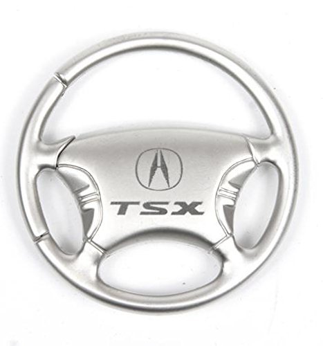 Steering Wheel Keychain /& Keyring with Acura TSX Logo
