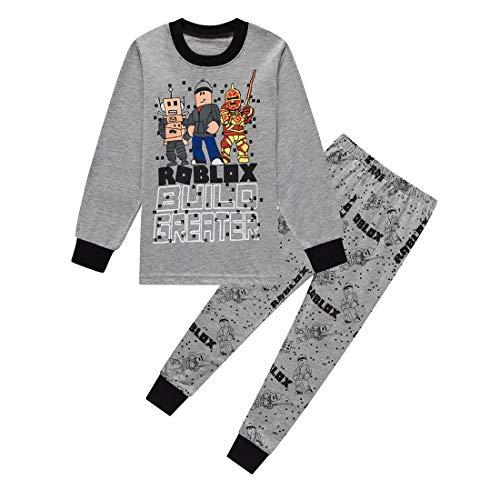 Jongens Pyjama Sets Winter Herfst Kerst Xmas Pyjama Zwart Rood Pjs