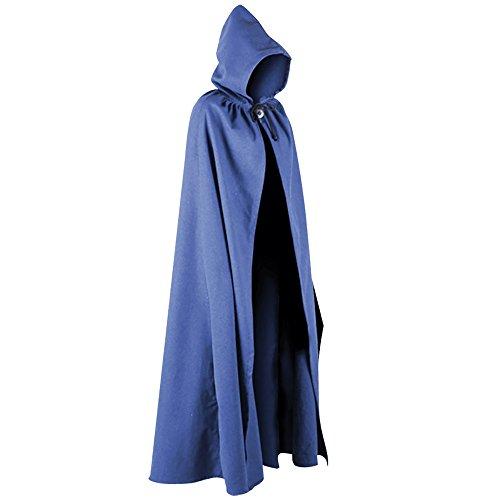 Aaron Canvas Cloak (Blue)