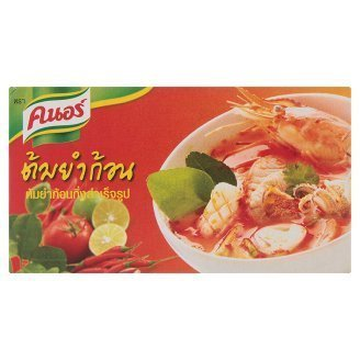 Knorr Tom Yum Cubes 72g 6 pcs Best Product From Thailand by Knorr