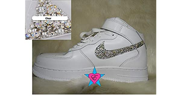 Amazon.com  Custom Jewels Gems Air Forces 1  61e7d7978