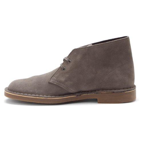 Clarks Mens Bushacre 2 Chukka Boot Grey