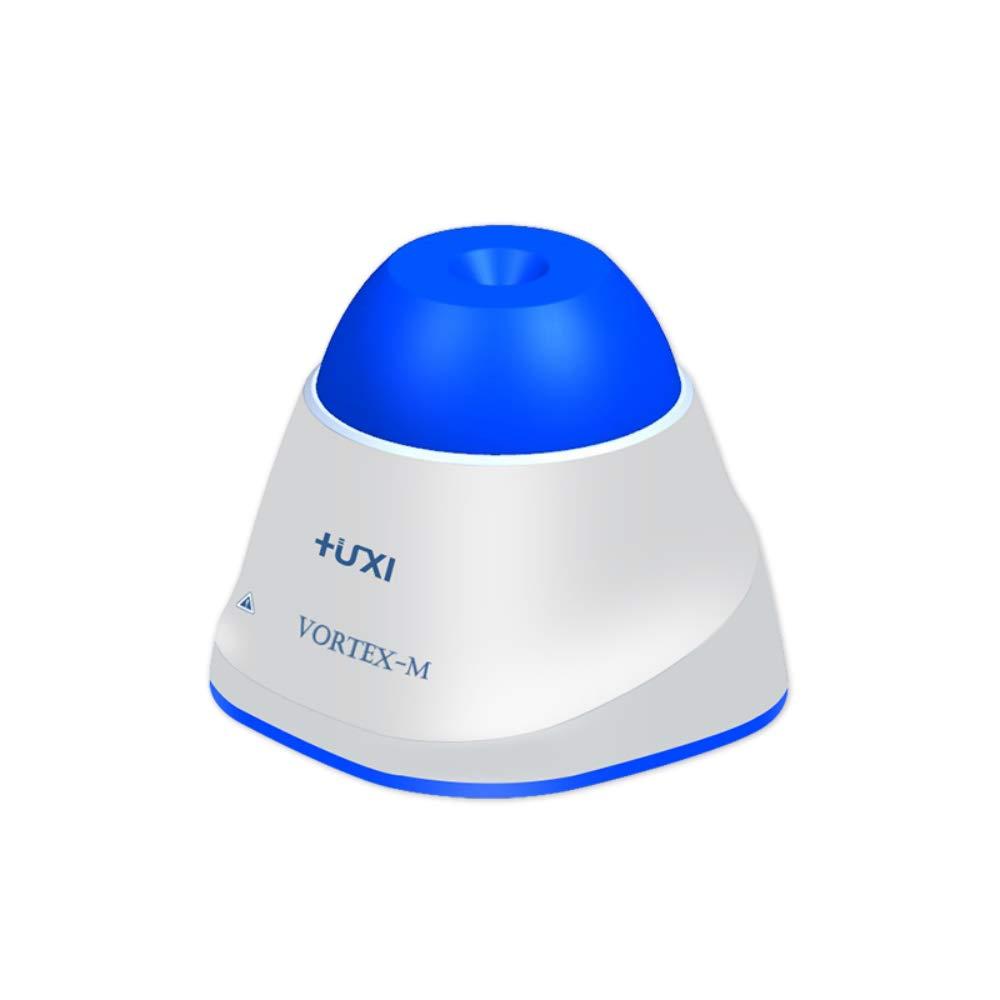 HuXi Vortex M Waterproof Lab Mini Vortex Mixer Shaker Centrifuge Test Tubes Oscillate Test Tube Eppendorf Tube Orbital Shaker 1 Year Warranty (Dark Blue) by HuXi