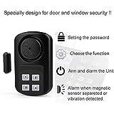 HENDUN Outdoor Door Alarm with Remote