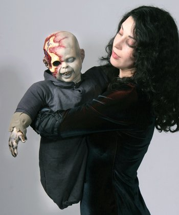 Costumes For All Occasions Ta309 Zombie Zack Latex Puppet ()