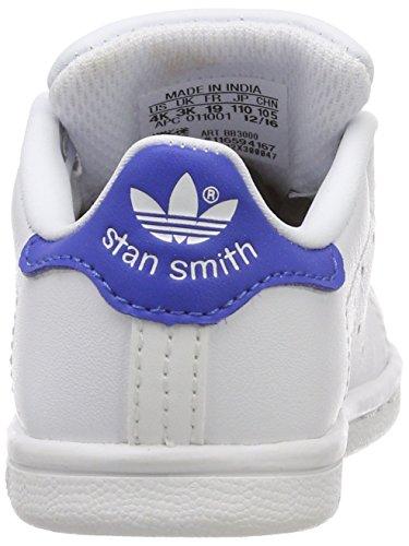 Stan adidas Bianco Unisex Sneaker Bianco Smith i Bimbi Ftwbla Ftwbla Azul 1dpqrdx