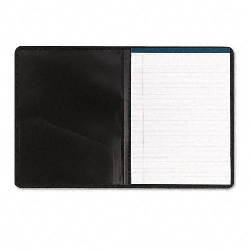 Smead Clear Front Polypropylene Pocket Padfolio with Pad, Inside Cover Card Slot, Gray (Clear Front Pocket Padfolio)