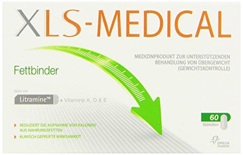 XLS-Medical Fettbinder, 60 Tabletten, 1er Pack (1 x 60 Stück)