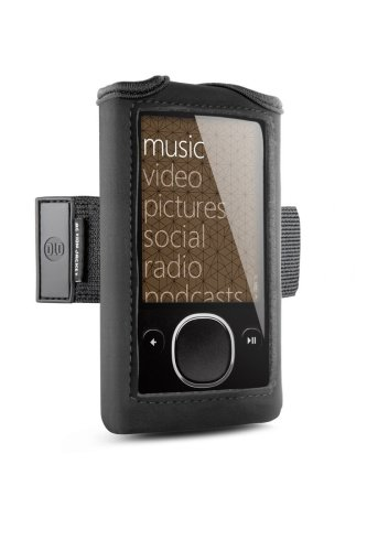 DLO - Philips Neoprene Action Jacket Case with Adjustable Armband for Zune 80GB/120GB, Black, ()