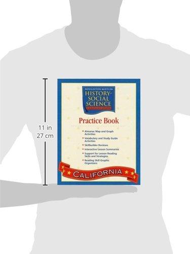 Amazon.com: Houghton Mifflin Social Studies California: Practice ...