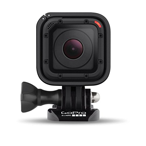 GoPro HERO4 Session CHDHS-101 Waterproof Camera, 8MP(Black) (Certified Refurbished) by GoPro