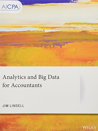 Analytics and Big Data for Accountants (AICPA) by Wiley