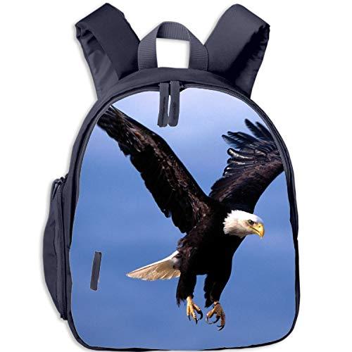 Children's Shoulder Bag Flying Hawk Backpack Girls Satchel School Bags - Girls Backpack Hawk For