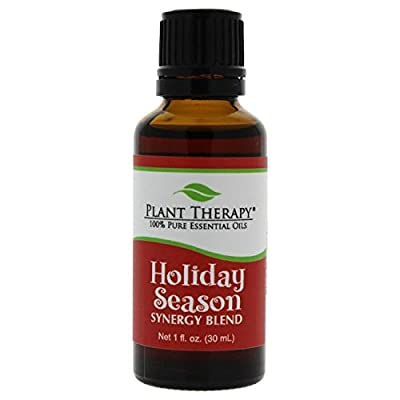 Plant Therapy Holiday Season Synergy Essential Oil 100% Pure, Undiluted, Therapeutic Grade