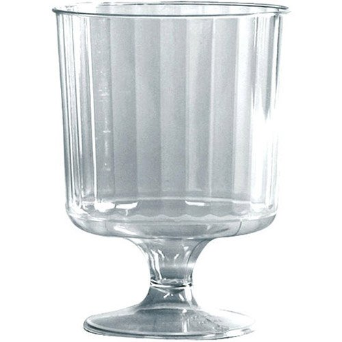 Waddington North America Plastic 8-Oz Wine Glass, Case of 240 (05-0207) Category: Wine Glasses by WADDINGTON NORTH AMERICA INC