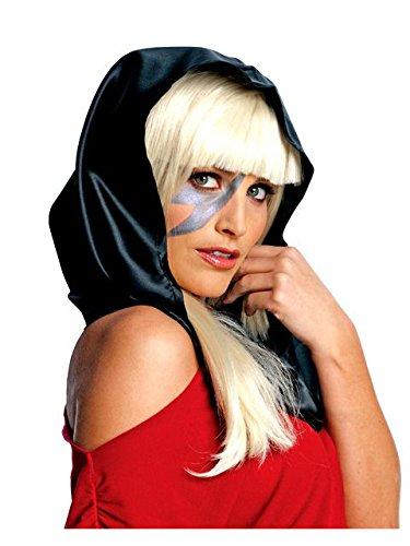 Adult Black Lady Gaga Headscarf -