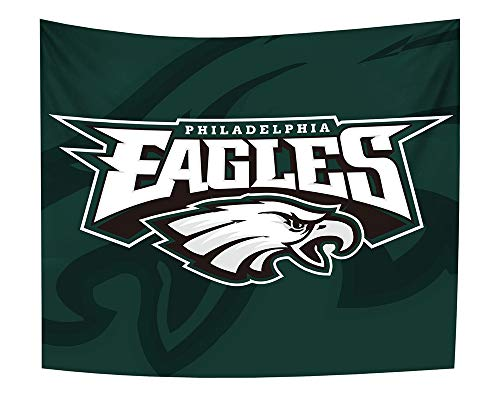 Gloral HIF Philadelphia Eagles Tapestry Home Decoration Blanket for Fans 50x60 ()