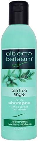 Alberto Balsam Herbal Shampoo - Tea Tree Tingle (350ml)