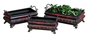 Deco 79 Metal Planter for Gardening Enthusiasts, Set of 3