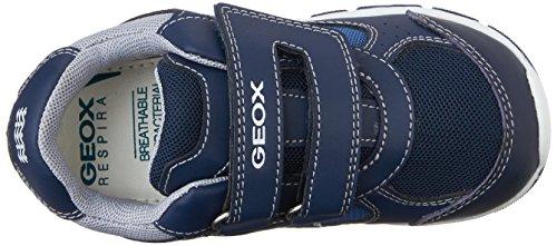 Geox B SHAAX B - zapatillas de running de material sintético bebé Azul - Blau (NAVY/DK NAVYC4078)
