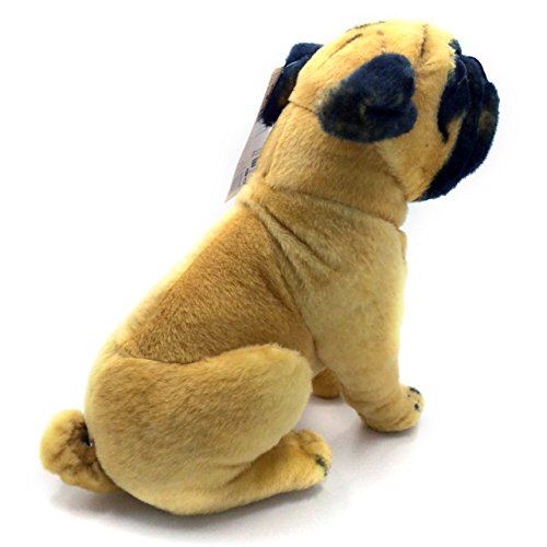 stuffed animal pug viahart 18 inch large dog stuffed animal plush puck the 9651