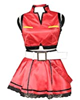 Vocaloid Family Cosplay Costume - Meiko 1st Kid Small