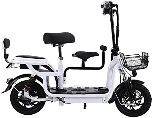 Y&XF Scooter eléctrico Plegable Sentado Recargable ...