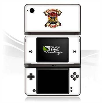 Nintendo DS Case Skin de vinilo adhesivo decorativo BBQ Grill Meister Barbacoa temporada Verano