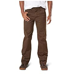 The comfort and styling of your favorite everyday five-pocket style pant with tactical functionality and stretch built right in. The defender-flex pant has been developed for 5.11 end users who are looking for low-vis tactical without sacrifi...