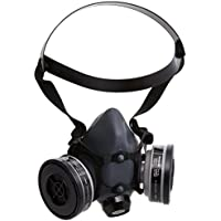 5500 Series Half Mask with 2 Organic Vapor Cartridges, 2 N95 Filters & 2 Filter Cover, Size Large