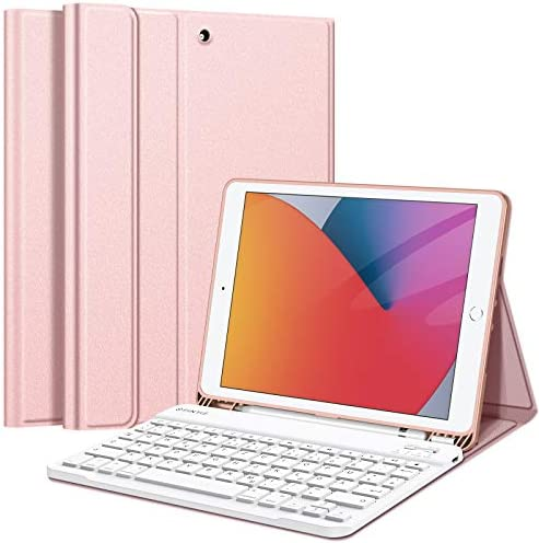Fintie Keyboard Case For Ipad 10 2 Inch German Layout Computers Accessories