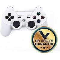 Virtual Zone Control Inalámbrico Compatible con Playstation 3 - con Cable de Carga (Blanco)