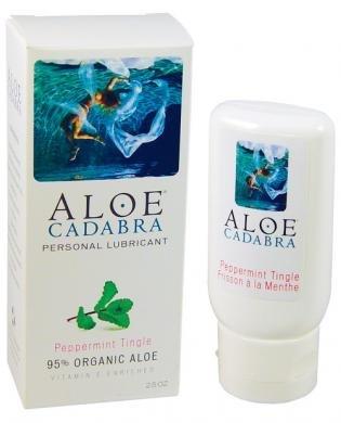 Aloe cadabra organic lubricant peppermint product image
