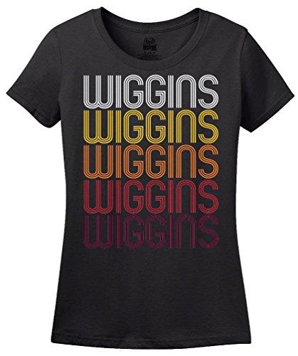 Wiggins, MS | Retro, Vintage Style Mississippi Pride T-shirt