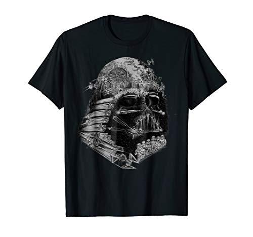 Star Wars Darth Vader Build The Empire Graphic T-Shirt]()