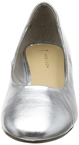 New Look Sensation 2 - Tacones Mujer Silver (silver/92)