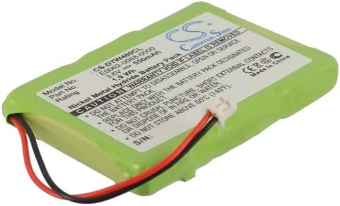 Replacement Battery for Aastra 23-0022-00, E0062-0068-0000, SN03043T-Ni-MH fits Aastra 9480ICT, CM-16(Ni-MH 550mAh / 1.98Wh)