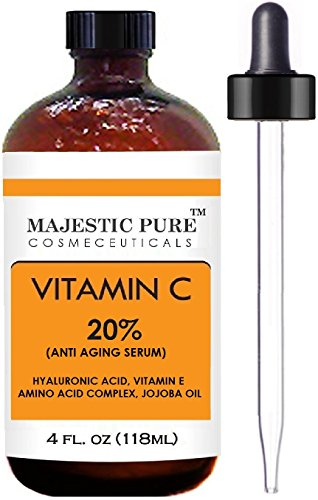 Majestic Pure Vitamin C Serum Antioxidant 4 Oz