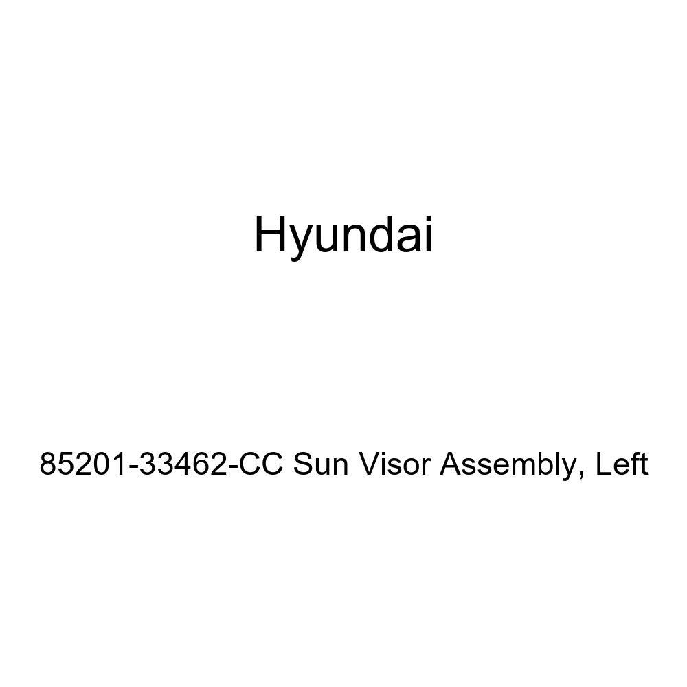 Left Genuine Hyundai 85201-33462-CC Sun Visor Assembly