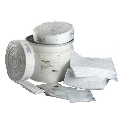 3M Petroleum Sorbent Spill Kit P-SKFL31, White