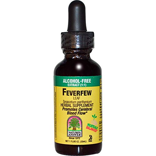 Nature's Answer, FeverFew Leaf, Alcohol-Free, 1 fl oz (30 ml) - 3PC ()