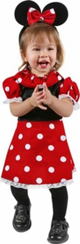 Baby Mouse Dress Halloween Costume (Size: 12-18M)