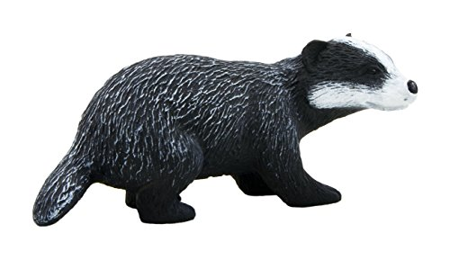 Mojo Fun 387033 Badger - Realistic Forest / Countryside Wildlife Toy Replica