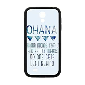 ohana means family Phone Case for Samsung Galaxy S4 Case by mcsharks